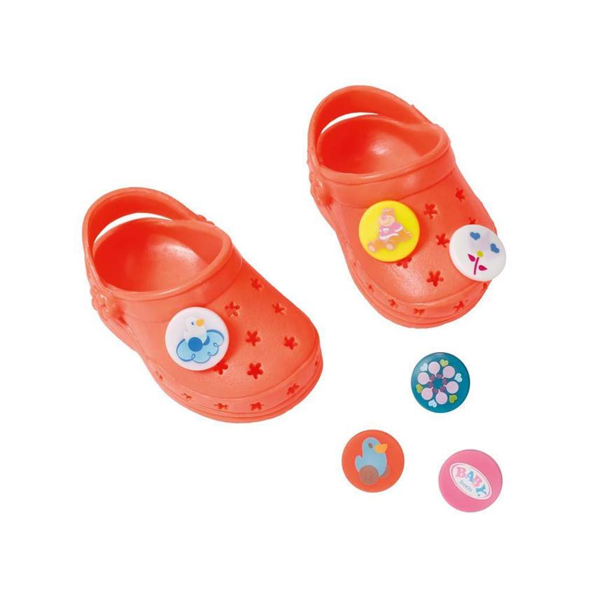 Nowe zdjęcia zasznurować najlepsze podejście Παντοφλάκια crocs σε 6 σχέδια Baby Born (822067)