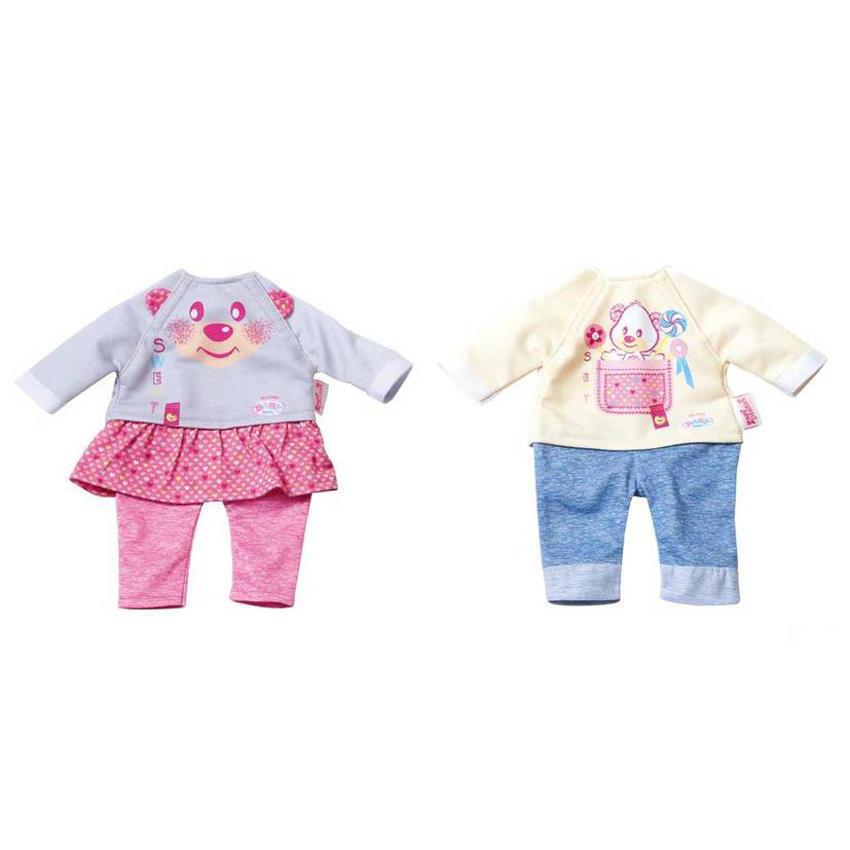 5fce370f720 Σετ ρούχα (2 σχέδια) My Little Baby Born (823149)