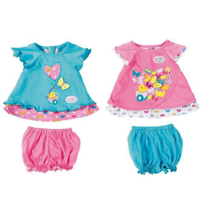 Σετ ρούχων Butterfly (2 σχέδια) Baby Born (823552) 579df3310c8
