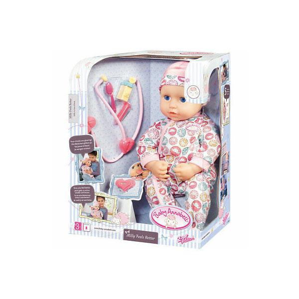 Κούκλα με αξεσουάρ Baby Annabell Milly αρρωστούλα (701294 ...